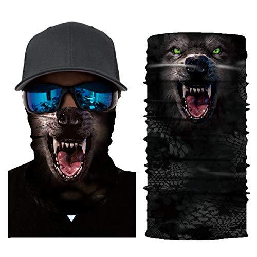 Unisex Stylish Irish Shamrock Quick Dry Microfiber Headwear Outdoor Magic Bandana Neck Gaiter Head Wrap Headband Scarf Face Mask Ultra Soft Elastic Handscarf