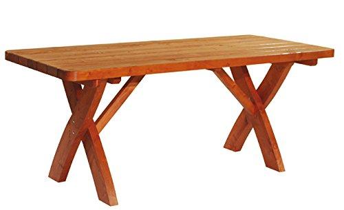Design Holzgarnitur Holz Sitzgruppe Rainbach edel und stabil - 5