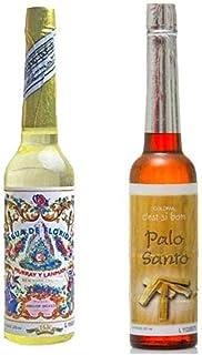 PACK DE DOS (2) BOTELLAS DE Agua de Florida 1 La Original Peru Amarilla 270 ml y otra de Agua Colonia de Palo Santo 211 ml...