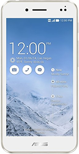 Asus PadFone S PF500KL-2B008DE Smartphone (Qualcomm Snapdragon 801 MSM8974AB, 2,3GHz, 12,7 cm (5 Zoll) Touchscreen, 2GB RAM, 16GB Interner Speicher, 13 Megapixel Kamera, Android 4.4) weiß