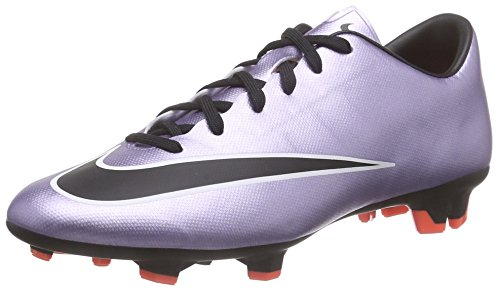 Nike Mercurial Victory V FG Mens Football Boots 651632 Soccer Cleats Firm Ground (US 9.5, Urban Lilac Black Bright Mango White 580)
