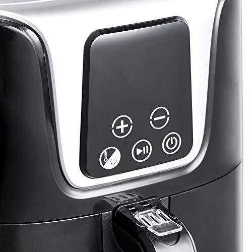Amazon Basics - Friggitrice ad aria digitale, compatta e multifunzione, 3 litri