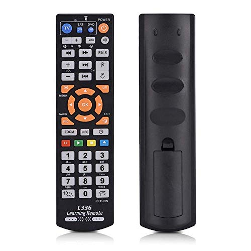 学習リモコン L336ユニバーサルTVリモコン ワイヤレスインテリジェントコントローラ テレビリモコン TV CBL DVD対応 操作簡単 学習リモコン