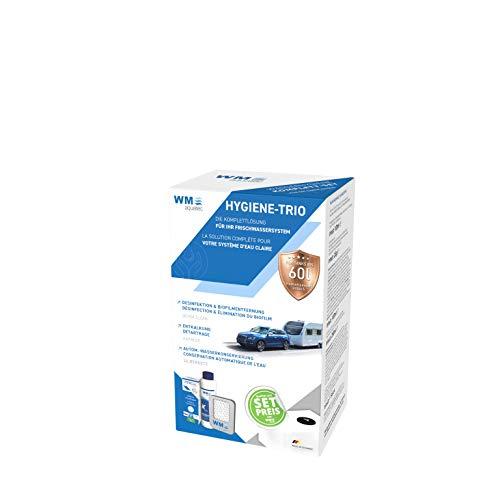 WM aquatec Hygiene-Trio für Frischwassersysteme bis 60 Liter Tankgröße