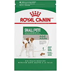 Royal Canin small adult dry dog food (formerly Mini Adult) is precise nutrition specifically made for small dogs 10 months to 8 years old weighing 9–22 pounds Meets the high energy needs of small dogs while helping maintain a healthy weight with L-ca...