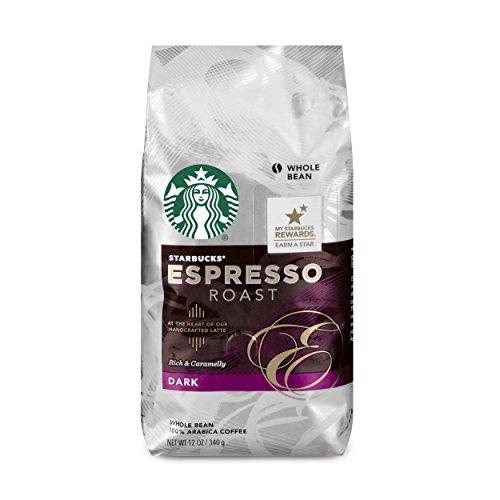 Starbucks Espresso Roast, Whole Bean-12 oz