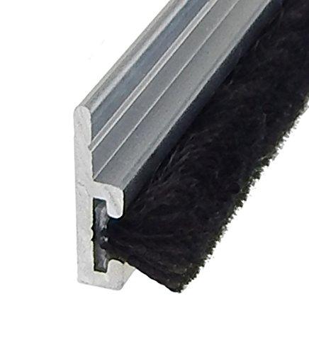 Bürstendichtung BSL 10 mm - 100cm Türbürste Türdichtung Glasdichtung