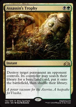 Magic The Gathering - Assassin39;s Trophy (152/259) - Guilds of Ravnica