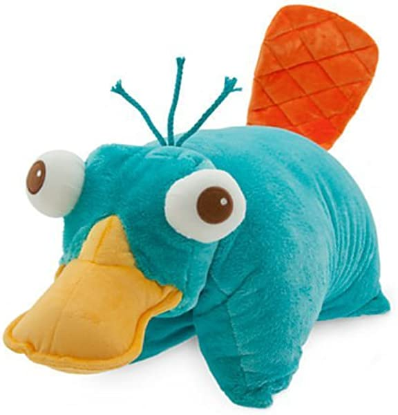 Disney Park Phineas And Ferb Perry The Platypus Pillow Pal Plush Pet Doll
