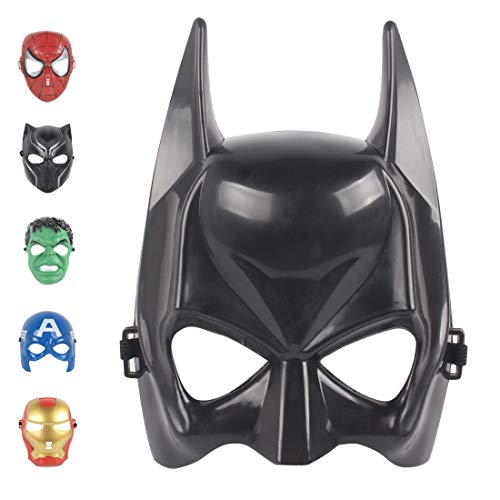 Christmas Mask Children's Mask Cosplay Boy Toy Movie for 3 4 5 6 7 8 9 10 Years Old Mask (Batman)