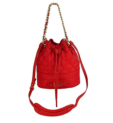 MOSCHINO COUTURE! Damen Women Luxuriöse Rucksack Beutel Tasche Bag Rot Red