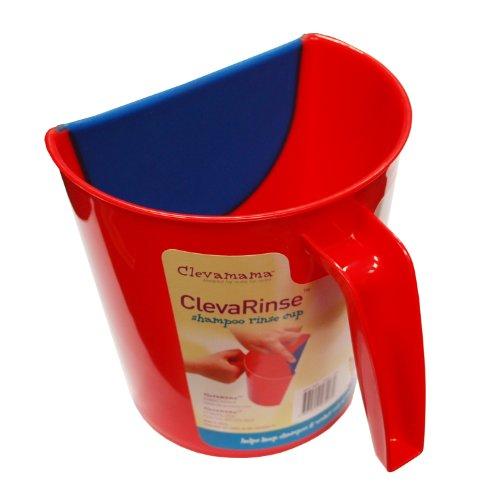 Clevamama Broc de rinçage shampoing \