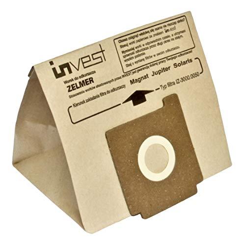 Staubsaugerbeutel für BORK HANSEATIC OTTO ZELMER (10 Stück)