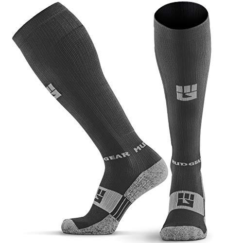 MudGear Premium Compression Socks - Run, Hike,...