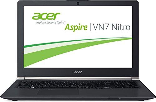 Acer Aspire Black Edition VN7-591G-590D 39,6 cm (15,6 Zoll) Laptop (Intel Core i5-4210H, 2,9GHz, 8GB RAM, 128GB SSD + 500GB HDD, NVIDIA GeForce GTX 860M, Win 8.1) schwarz