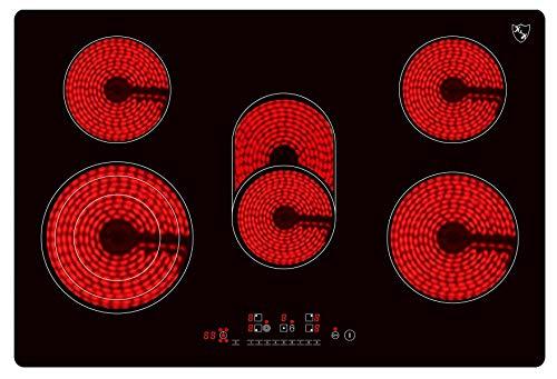 K&H K&H® 5 Zonen Glaskeramikkochfeld 77cm Bild