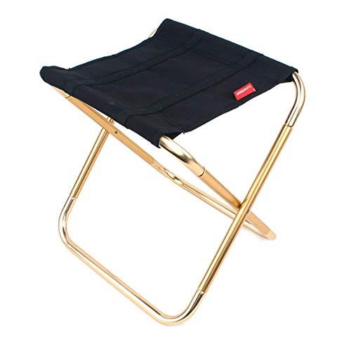 Kleiner Faltender Hocker im Freien, der leichten tragbaren Stuhl trägt, um Mini-Aluminium zu tragen, der robusten Hocker-Strand für Ereignisse im Freien/Reise /