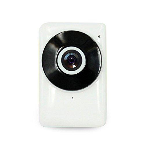 Pinkbenmus Netzwerkkamera Mit Aufzeichnung, 720P HD Bewegungserkennung Netzwerkkamera Mini-Alarm & IR Nachtsicht & Email-Alarm Netzwerkkamera Full Hd
