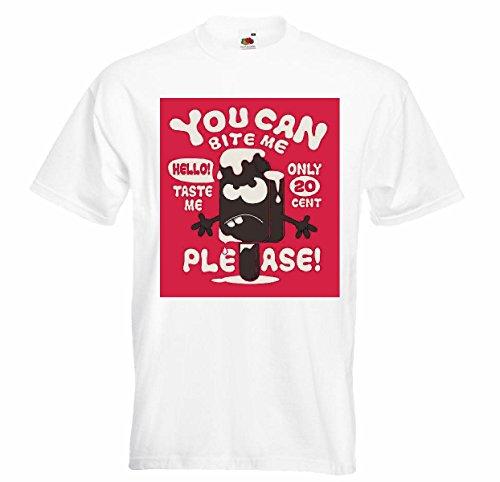 Favor T-shirt Remera, kunnen de kauwen ME Solo 20 CENTAVOS by Favor ijs chocolade pallets zacht dieet slanke calorieën figuur Imc dik dun