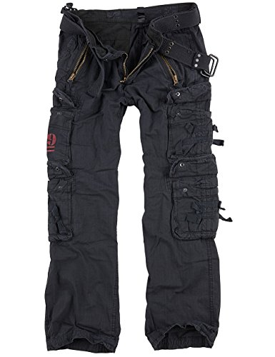 Surplus Royal Traveler Trousers, royalblack, XXL