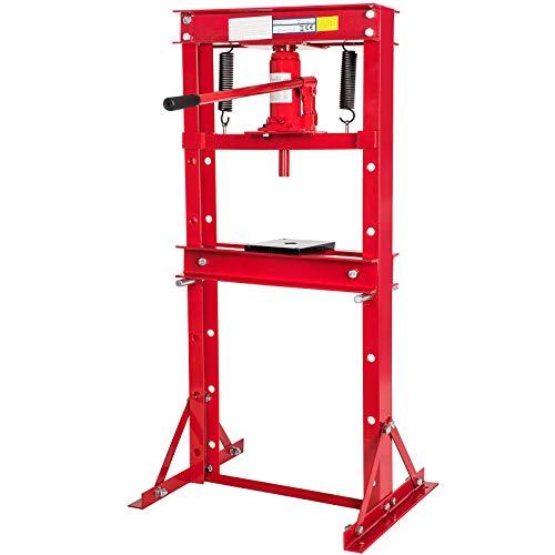 Trad4U Werkstattpresse 12T Hydraulikpresse Werkstattpresse Rahmenpresse mit 12t Pressdruck