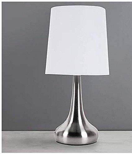 Stunning Rimini Touch Lamp Bedside Sideboard Desk Table Lamp (Cream)