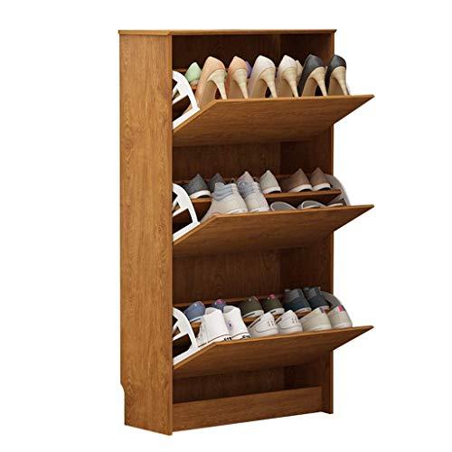 YUEZPKF Personalidad Gabinete de Zapatos Ultra Delgada 24 cm Dumping Gabinete de Zapatos Simple Moderno Puerta Zapato Home Hall Gabinete Zapato Estante