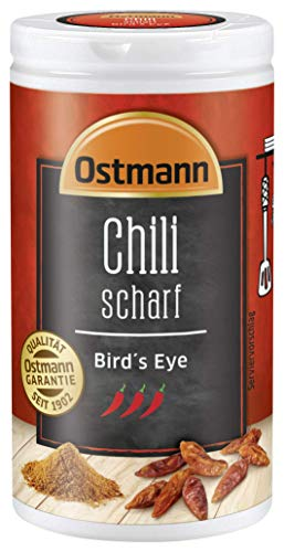 Ostmann Chili scharf Bird´s Eye, 4er Pack (4 x 35 g)