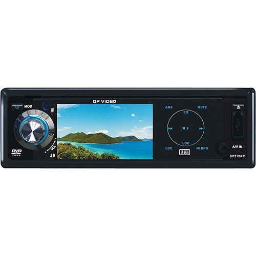 DP Audio Video DP318AP 3-Inch iPod DVD Receiver