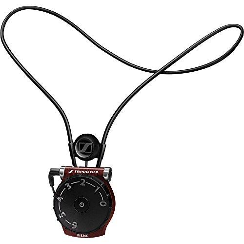 Sennheiser RI 830 S Binaural Kabellos Schwarz Mobiles Headset - Mobile Headsets (Binaural, Schwarz, Kabellos, 12 m, 50-16000 Hz, Lithium Polymer (LiPo))