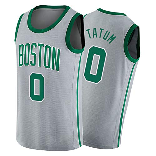 FGNB Celtics N° 0 Tatum Jersey, Swingman Baloncesto Jersey Uniforme para la temporada 2021 adecuado para deportes diarios White4-M