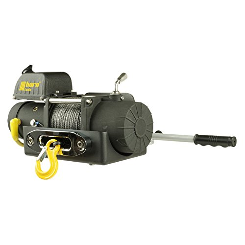 horntools Seilwinde 4,3to Alpha 9.5 Quick 12V Kurztrommel 80m Kunststoffseil