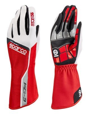Handschuhe Sparco Track KG-3 TG. 09 rot