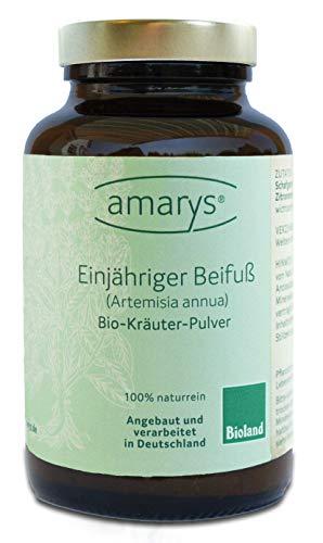 Einjähriger Beifuß (Artemisia annua), reines Pflanzen-Pulver