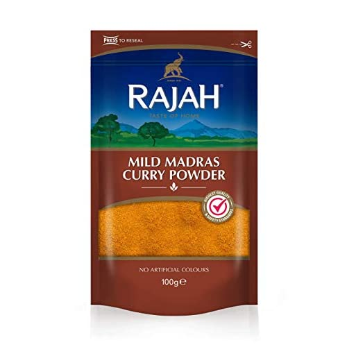 Rajah Mild Madras Curry Powder 100g