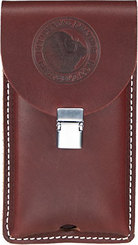Occidental Leather 5328 Occidental Hand crafted Clip-On Leather Phone Holster for Large Phones