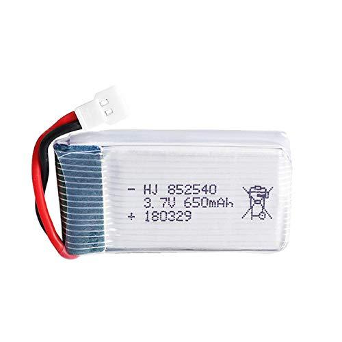 RFGTYH 3.7v 650mah para Syma X5C-1 X5C X5 X5SC X5SW X6SW H9D H5C para LiDiRC L15FW RC Drone Partes 30C batería lipo