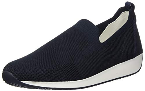 ara Damen LISSABON Mokassins, (Blau 02), 37.5 EU(4.5 UK)
