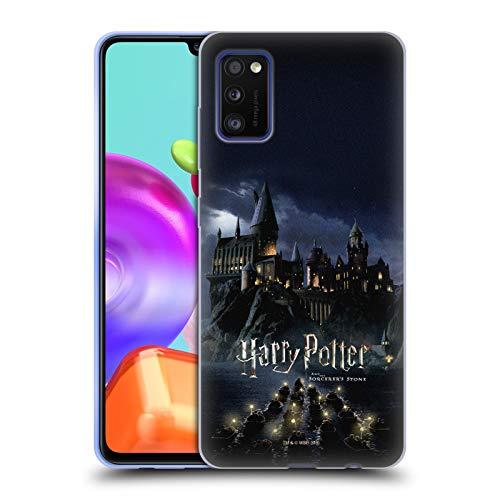 Head Case Designs Ufficiale Harry Potter Castello Sorcerer's Stone II Cover in Morbido Gel Compatibile con Samsung Galaxy A41 (2020)