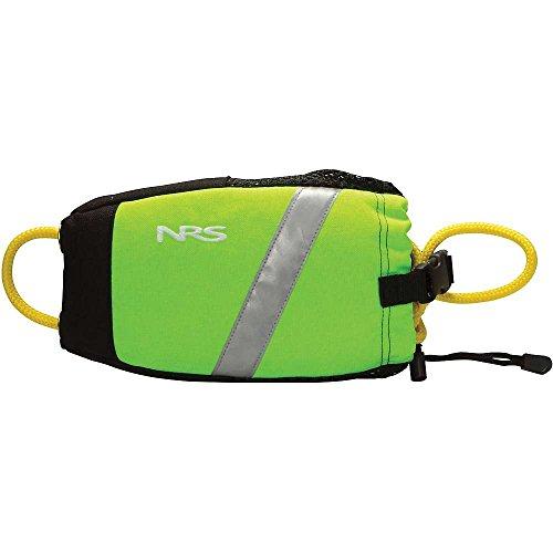 NRS Wedge Rescue Throw Bag High Vis Green 55'