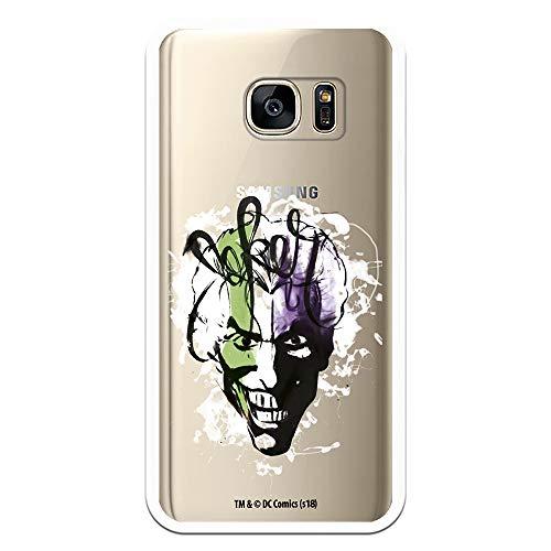 📱 Funda para Samsung Galaxy S7 Oficial de DC Comics Joker Transparente. Protege tu móvil con el personaje más mítico de Batman, una Funda de silicona transparente, flexible y resistente para Samsung con Licencia Oficial de DC Comics. ❤ Diseño excluiv...
