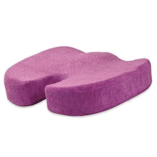 Z-ZH Memory Foam Sitzkissen für Bürostuhl, Auto, Rollstuhl & Flugzeug, orthopädische Stuhlauflage