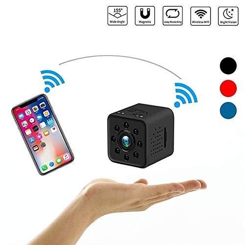 DSAEFG Mini CAM WiFi cámara Full HD 1080P visión Nocturna del Sensor Bolsos Impermeable videocámara grabadora