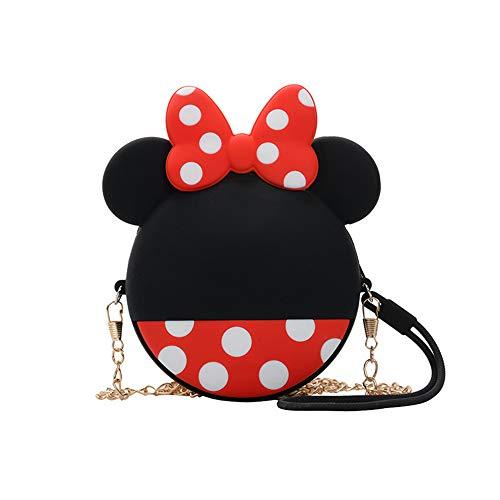 rosepartyh Crossbody Geldbörse für Mädchen Mickey Mouse Maus Mhängetasche Handtasche Geldbörse Kinder Prinzessin Mini Taschen Geschenk Mädchen Geburtstag