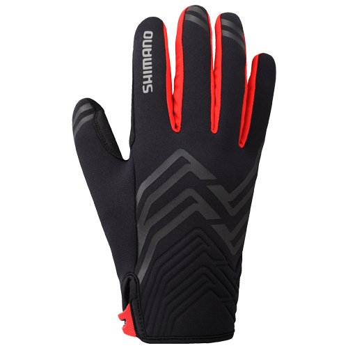 SHIMANO Handschuhe Windbreaker DICK ROT, L