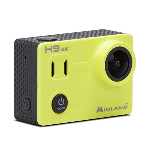 Midland H9 Action Camera Videokamera Ultra HD 4K-Code C1405