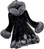Abrigo con capucha para mujer invierno a prueba de viento Fleece Fluffy Sherpa Chaquetas de lujo espesar cálido Cardigan Outwear