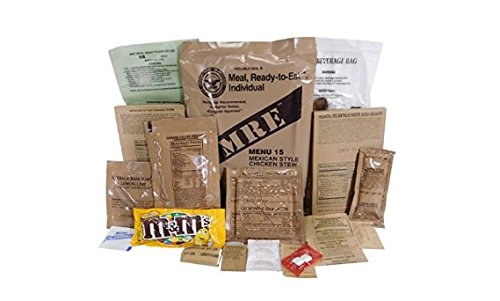 MEALS READY TO EAT MRE US MILITARY Case A//B 2 Random Draw