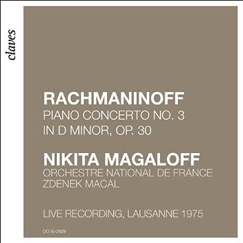Rachmaninoff: Piano Concerto No. 3 (Live Recording, Lausanne 1975)