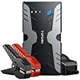 Jump Starter Portable Car Battery Pack, TOPDON VOLCANO1200 12V Auto Battery Charger Lithium Battery Booster Jumper (Up to 6.5L Gas, 4.0L Diesel) for Car Truck ATV SUV Motorcycle Boat (Peak 1200A)